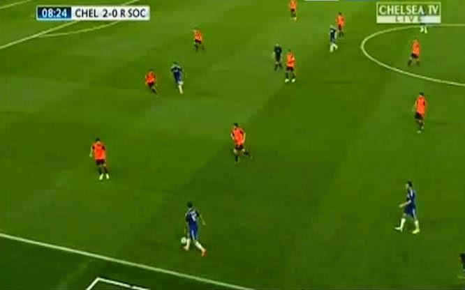 اهداف مبارة تشيلسي وريال سوسيداد 2-0