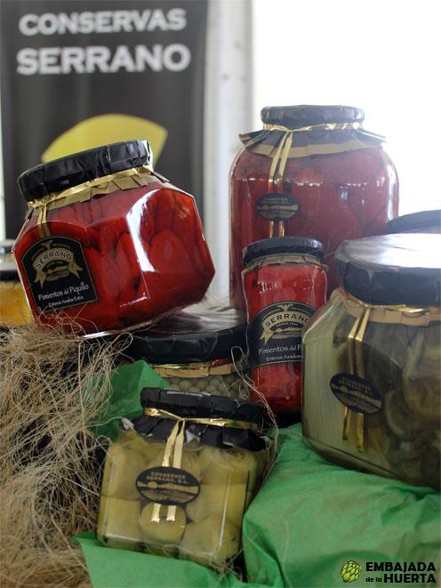 Pimientos del Piquillo de Lodosa y otros productos de Conservas Serrano en las Jornadas Gastronómicas de la Verdura de Calahorra 2013