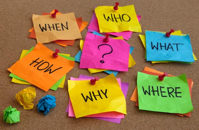 प्रश्न कैसे पूछें