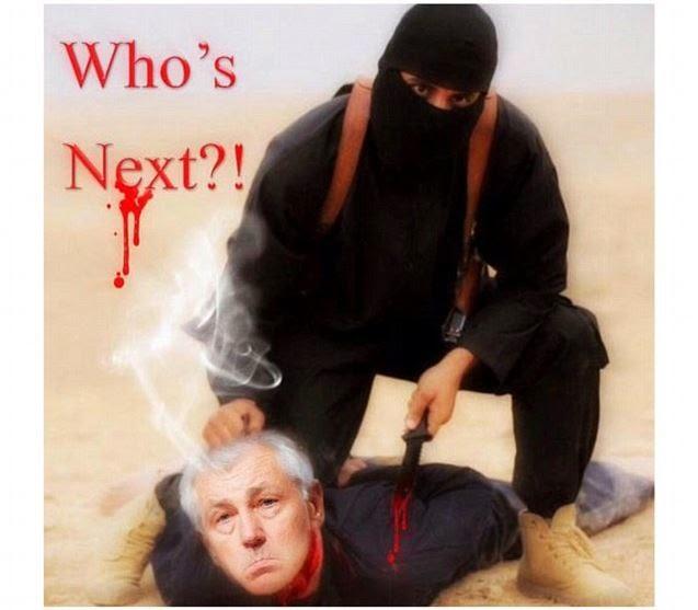 Chuck Hagel jadi Bahan Olok-olokan Militan ISIS