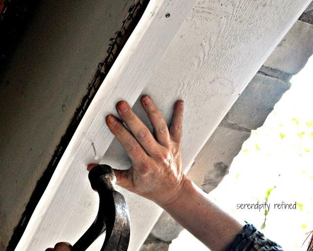 DIY Home Maintenance Garage Door Weather Seal Replacement Fix