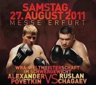 Alexander Povetkin vs. Ruslan Chagaev Live