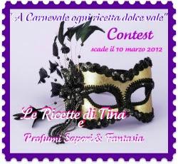 Partecipo al contest di carnevale che scade il 10 marzo