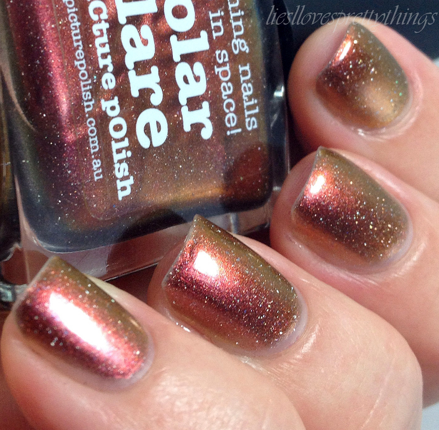 piCture pOlish Solar Flare swatch and review