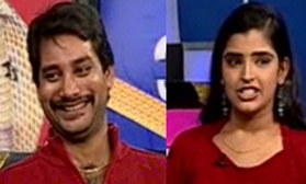 maa tv anchor shyamala husband