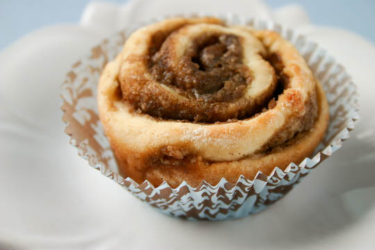 Bakergirl: Cinnamon Pinwheels with Maple-Coffee Icing.