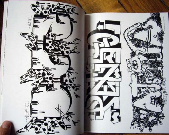 Libro de Graffitis para colorear