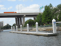 New alternative to the Wall at JAX Landing. No elec., but a nice floating dock.