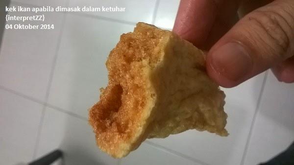 Kek Ikan kering buat mengalas perut yang lapar