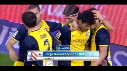 Video Cuplikan Gol Athtletic Bilbao VS Atletico Madrid 1-2 30 Maret 2014