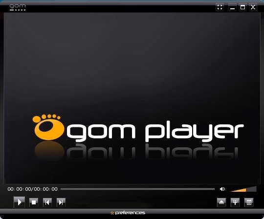 skin GOM Player, thema, deluxe