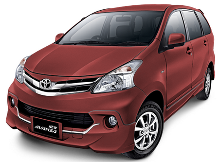 Toyota All New Avanza Maroon Mica