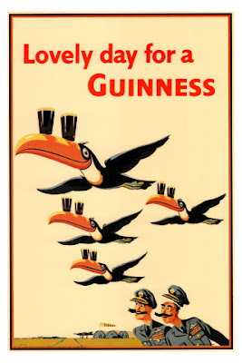 toucan vintage ad Guinness
