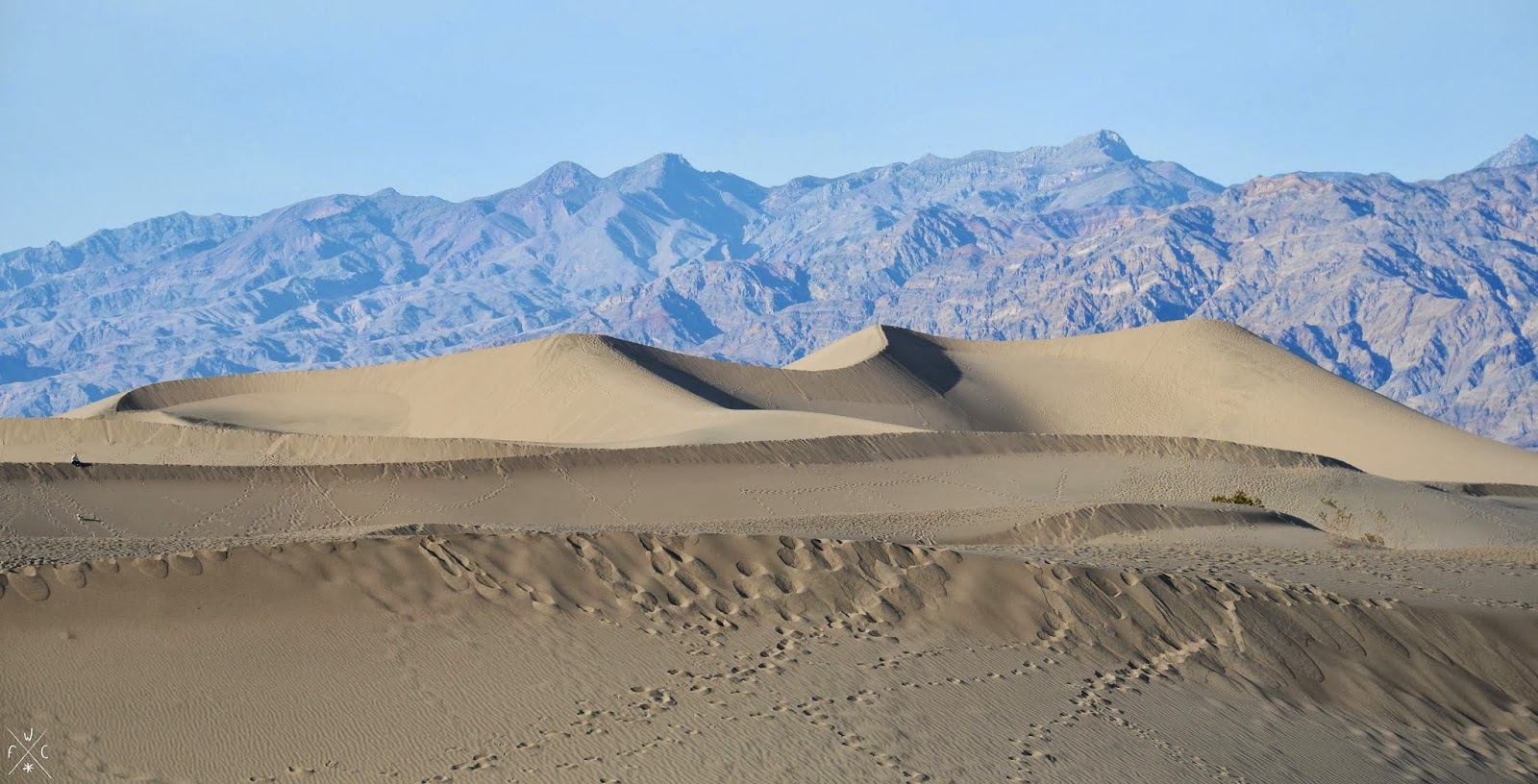 Mesquite Flat Sand Dunes, Death Valley National Park, Californie, USA