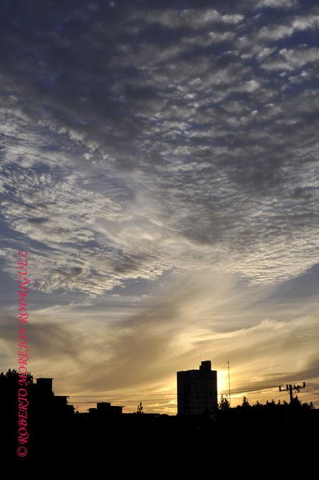 Puesta de sol en La Habana, Cuba, el 14 de marzo de 2013.