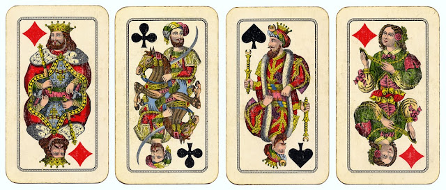 Vintage playing cards by crackdog, on Flickr