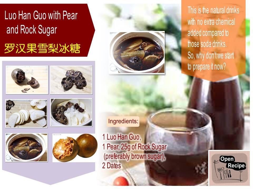 how to make rock sugar for tea