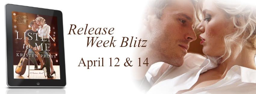 Listen To Me Release Week Blitz & Giveaway