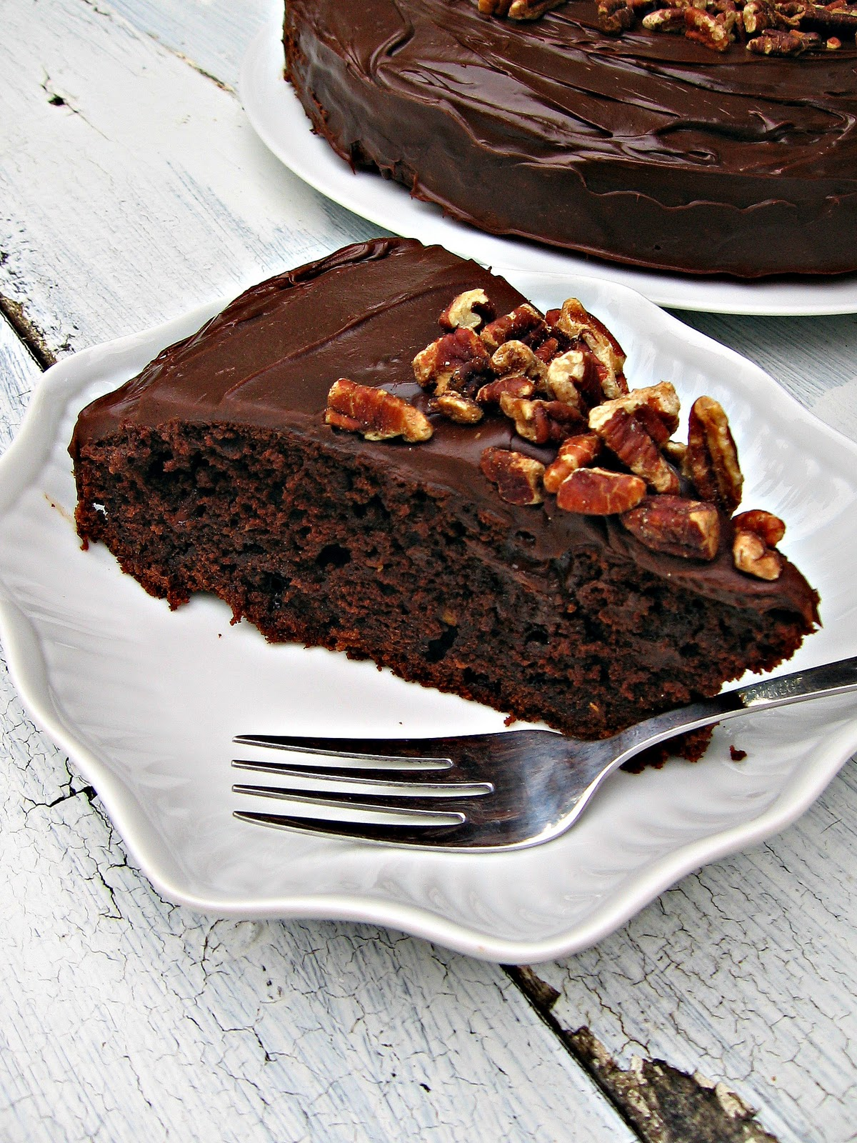 Sweetsugarbean Best For Last Double Chocolate Zucchini Cake