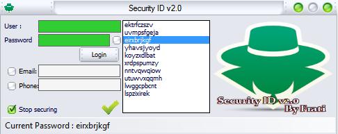 Security ID V 2.0 By Frati Asasaaaaaaa