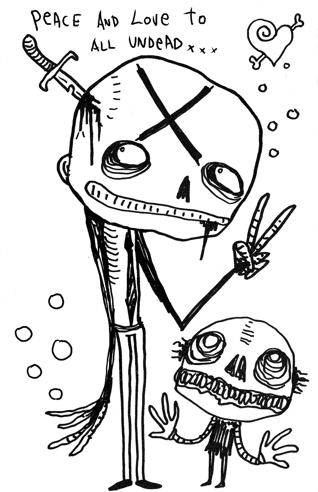 free zombie coloring book - Black Ops Zombies Coloring Pages