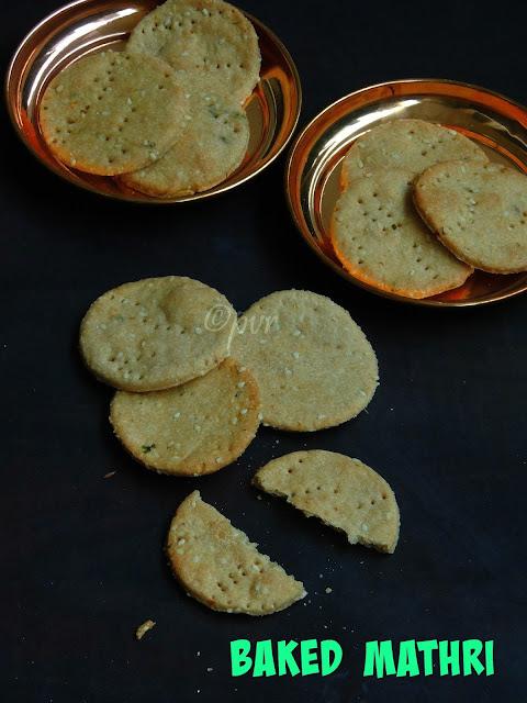 Baked Mathri, Spicy Baked Mathri