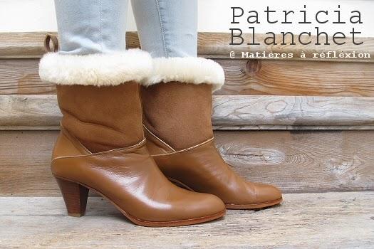 Soldes Patricia Blanchet boots fourrées mémère !