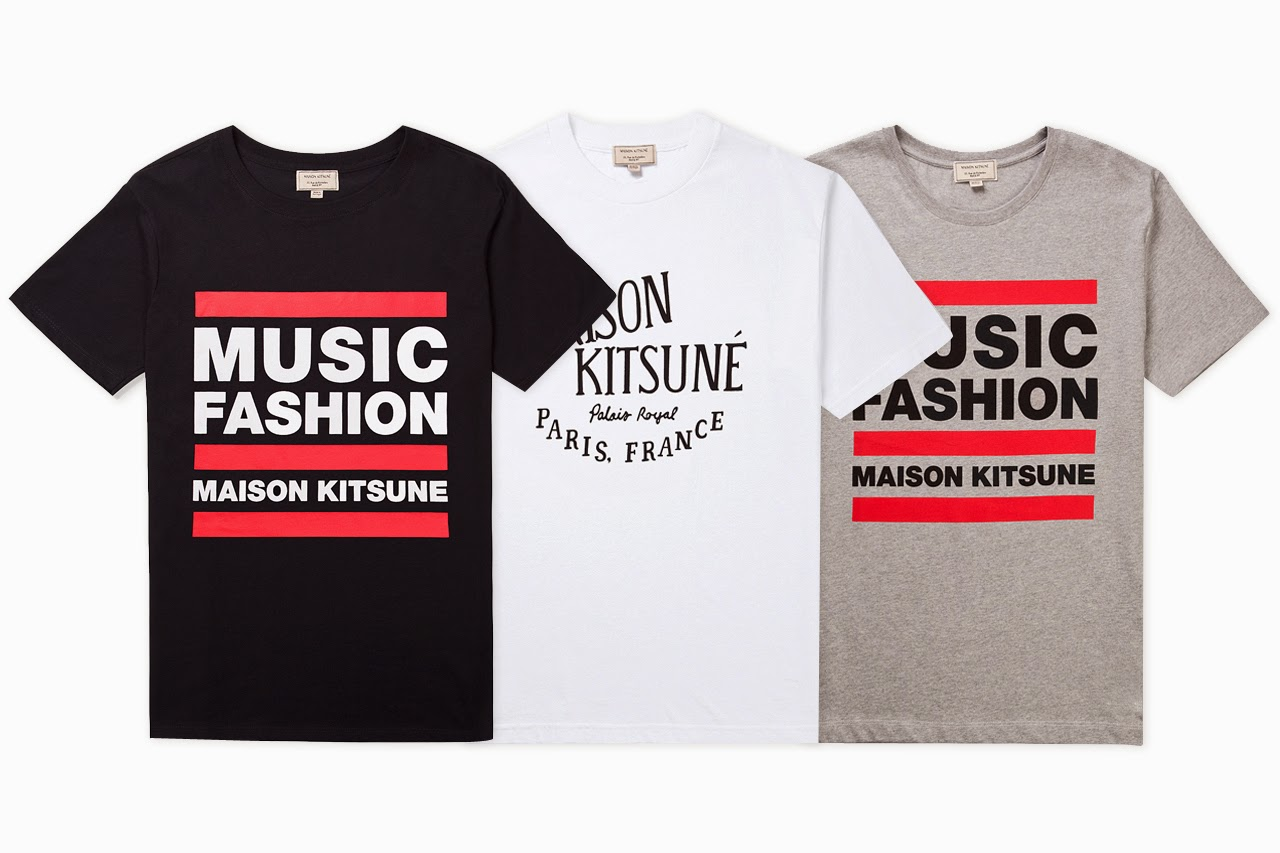 music fashion maison kitsune shop