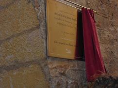 Talarn, placa conmemorativa
