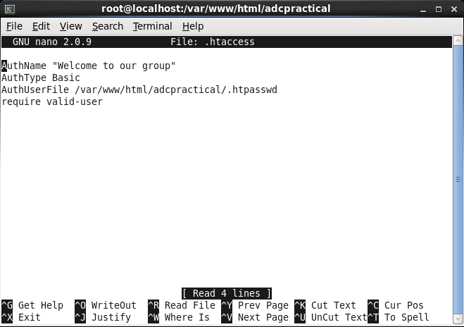 how to write own termial commands