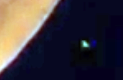 Green Glowing UFO Caught Crossing The Moon 2016, UFO Sightings