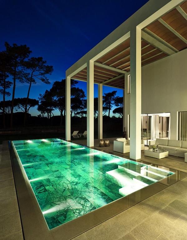 rumah mewah minimalis dengan nuansa terbuka rancangan