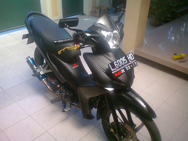 Modifikasi motor honda absolute revo black modifikasi honda absolute