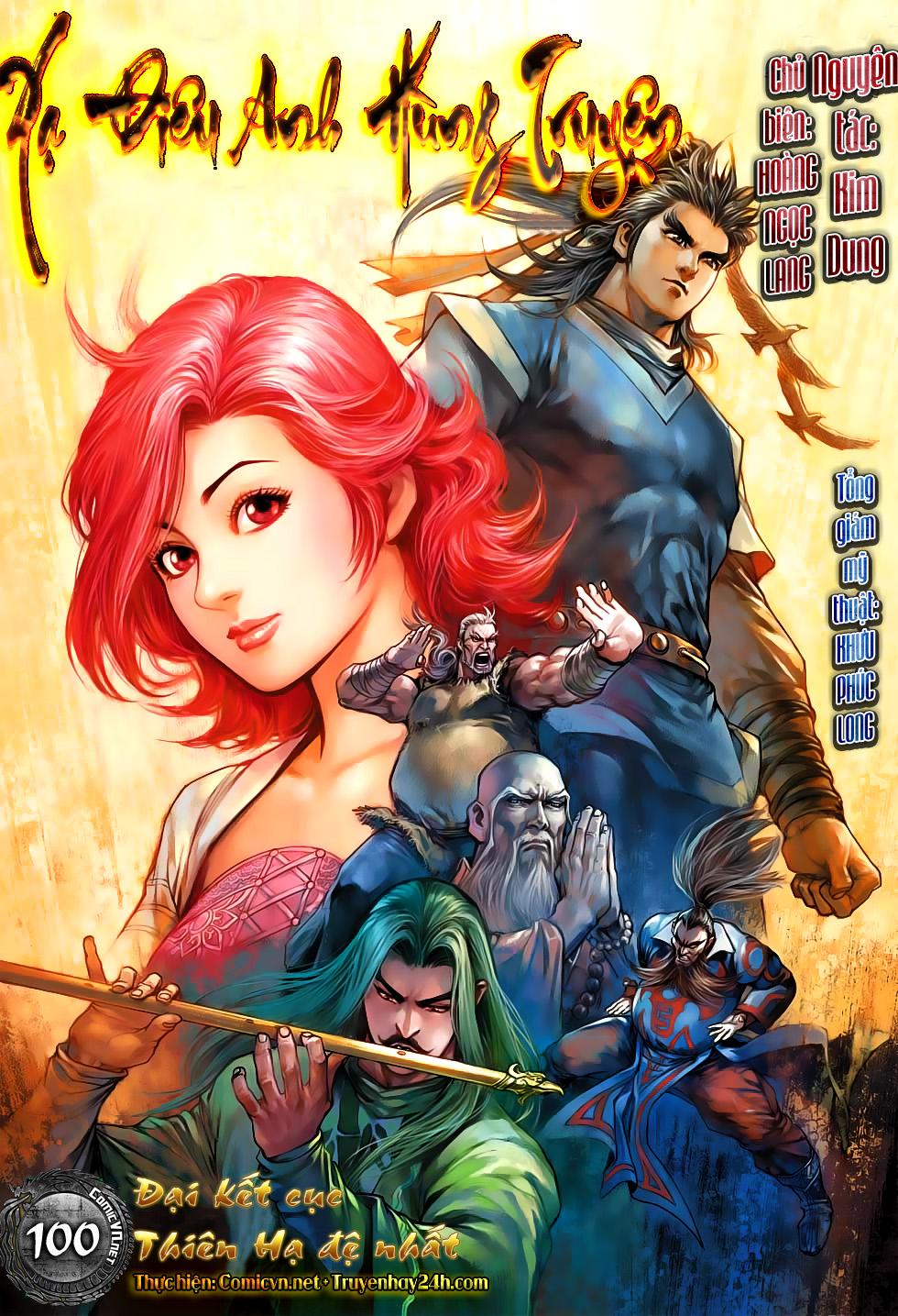 Xạ Điêu Anh Hùng Truyện chap 100 – End Trang 1 - Mangak.info