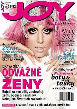 LADY GAGA JOY MAGAZINE COVER