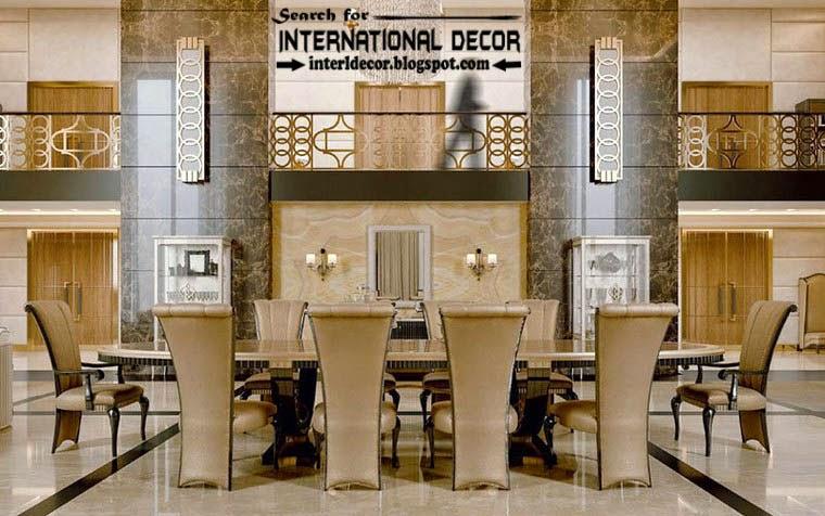 luxury classic dining room interior design decor and furniture