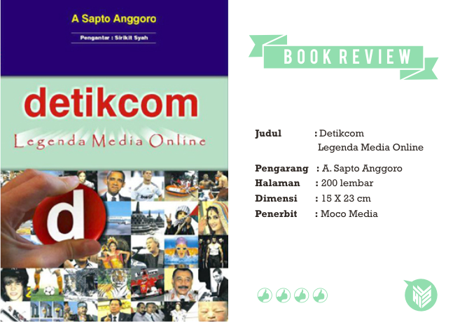 Buku DetikCom, Detik.com, media online, online media