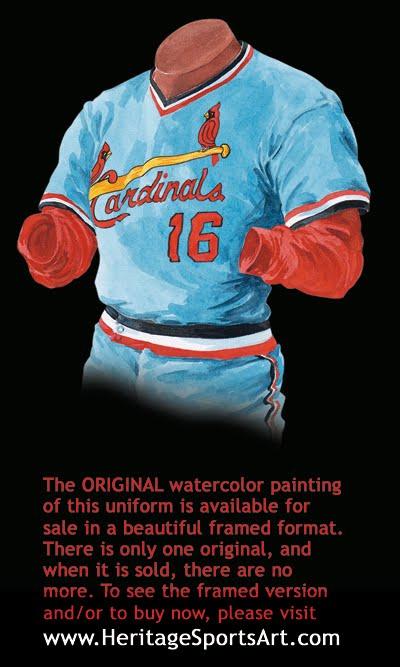 St. Louis Cardinals Uniform and Team History  551582fbf03