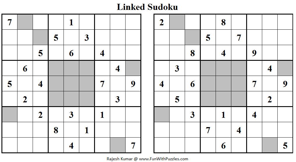 Linked Sudoku (Daily Sudoku League #108)