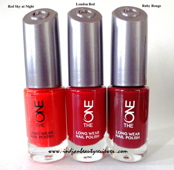 IndianBeautyReviewer: Oriflame The ONE Long Wear Nail Polish Red ...