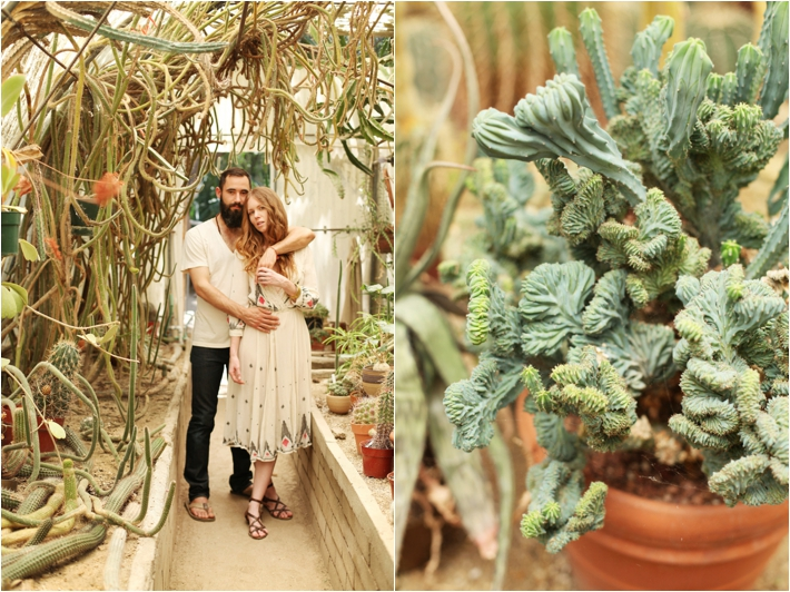 Organic Desert Engagement Session In Palm Springs Southern California Wedding Ideas And
