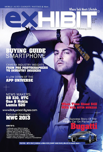 Neil Nitin Mukesh Cover Exhibit Magazine March