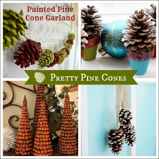 My Pretty Pine Cone Board on Hometalk