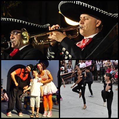 Baile, Payasos y Mariachis