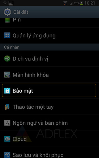 Cai dat ung dung ngoai nguon Play Store