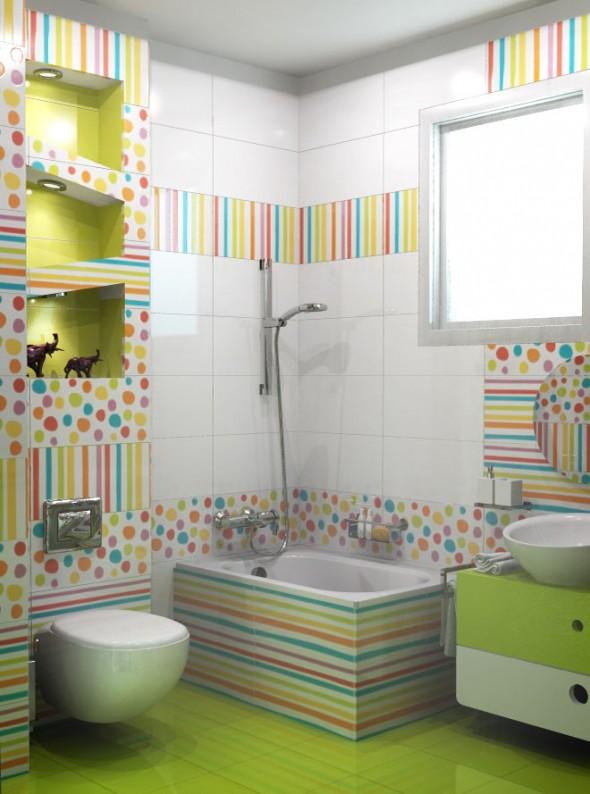 Diseno De Baños De Ninos:Diseño y Decoración de la Casa: Lindos Baños para Niños