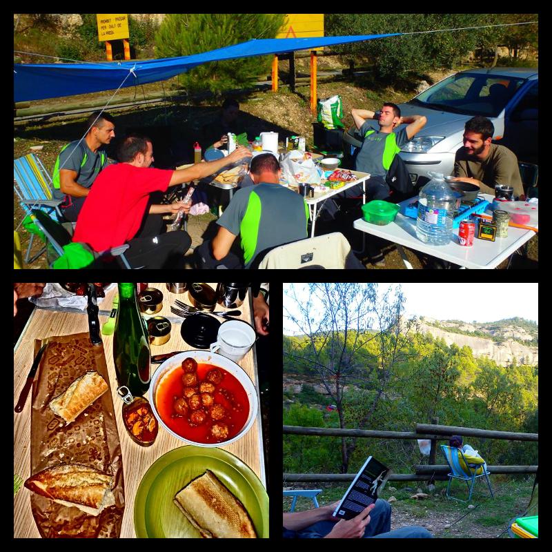 Zona de Acampada libre en Margalef
