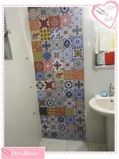 blog Vera Moraes  Decoração  Adesivos Azulejos  Papelaria Personalizada   -> Decoracao Banheiro Adesivos