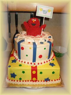 Beautiful Elmo Birthday Cakes