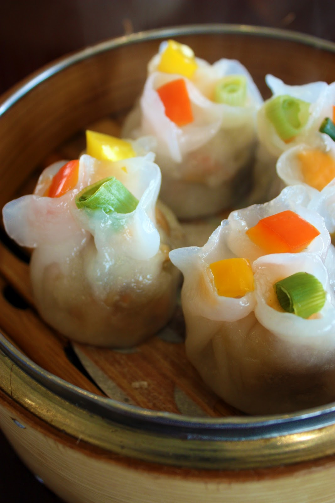 Steamed Vegetarian Dumpling